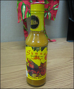 Sista Natural Pepper Sauce (Picante Chombo)