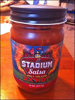 Stadium Salsa Holy Toldeo XX Hot Salsa