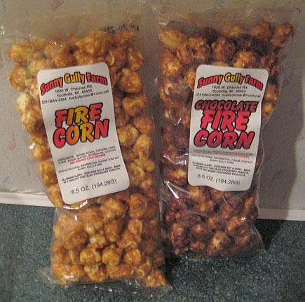 Sunny Gully Farms Fire Corn