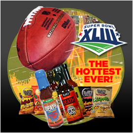 Blair's Hot Sauce and Snacks Superbowl Package