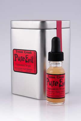 Texas Creek Pure Evil Capsaicin Drops Scoville Heat Units