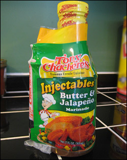 Tony Chachere's Injectables Butter & Jalapeno Marinade Injection