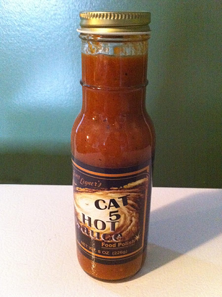 Tony Legner's Cat 5 Hot Sauce Food Polish