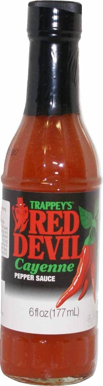 Trappey's Red Devil Cayenne Pepper Sauce Scoville Heat Units