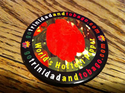 Trinidad and Tobago Uses Hot Pepper For Tourism Promotion on Button