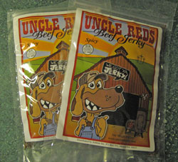 Uncle Red's Spicy Beef Jerky