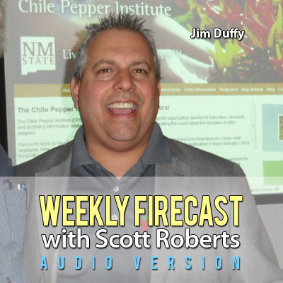 New Audio Weekly Firecast Podcast - Interview with Jim Duffy