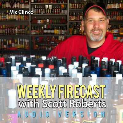 Weekly Firecast Podcast - Interview with Hot Sauce Collector Vic Clinco