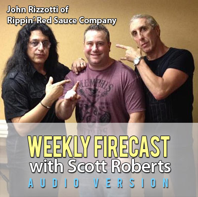 John Rizzotti of Rippin' Red Sauces Interview, Plus ZestFest 2013 Preview