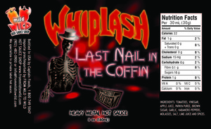 Whiplash Hot Sauces