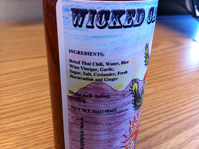Wicked Cactus Sauce Wrath of the Tiger Hot Sauce