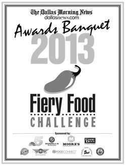 ZestFest 2013 Fiery Food Challenge Award Winners