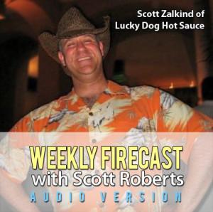 Scott Zalkind of Lucky Dog Hot Sauces