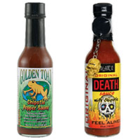 ultimate-hot-sauce-showdown-first-round-golden-toad-chipotle-vs-blairs-original-death-sauce