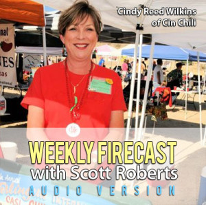 Talkin' Chili with Cindy Reed Wilkins of Cin Chili weekly-firecast-audio-ep-043-300x298