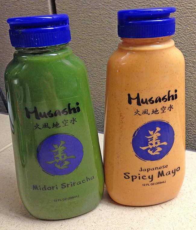 Musashi Midori Green Sriracha and Spicy Mayo Sauces Review
