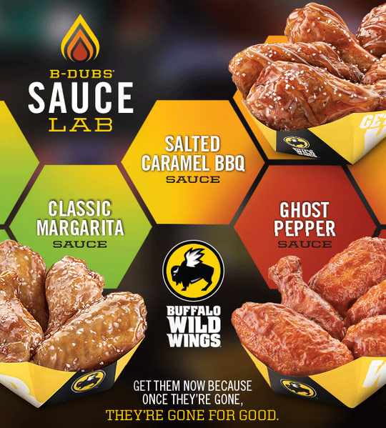buffalo-wild-wings-new-sauces-ghost-pepper-salted-caramel-classic-margarita-sauce