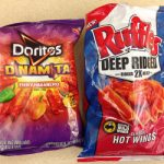 Review – Doritos Dinamita Fiery Habanero Tortilla Chips and Ruffles Deep-Ridged Classic Hot Wings Potato Chips