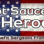 The Raffle To Win An Awesome Guitar For Sgt Frank Hegr is Here! Hot Saucers 4 Heroes