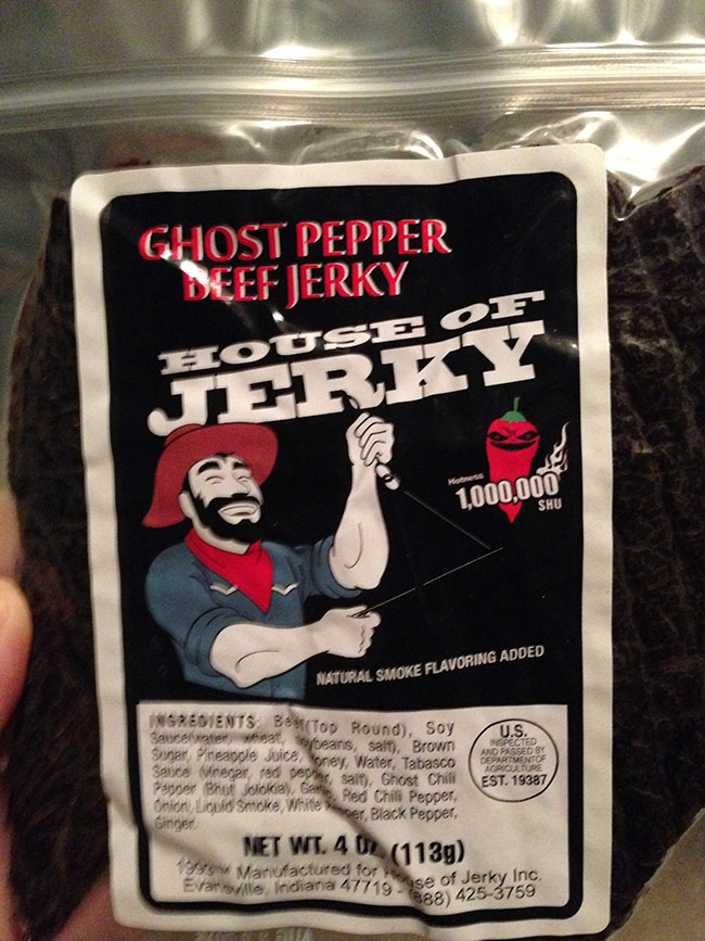 house of jerky ghost pepper beef jerky