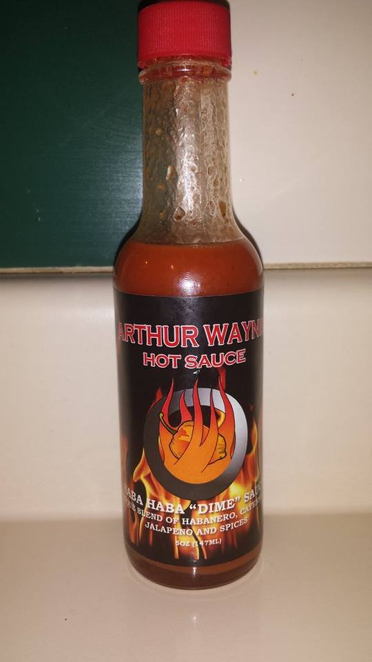 Arthur Wayne Haba Haba Dime Hot Sauce Review