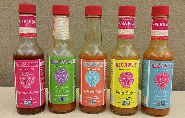 Ricante Hot Sauces