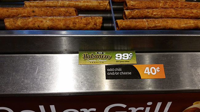 QT quiktrip habanero cream cheese taquitoes