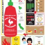 Sriracha Rooster Sauce Infographic