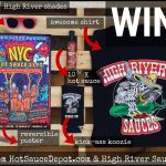 Enter Hot Sauce Depot's Awesome High River Sauces Giveaway Contest