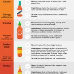 Guide to Most Popular Hot Sauces Infographic