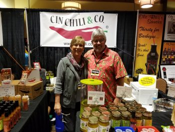 Cindy and Bruce Wilkins of Cin Chili
