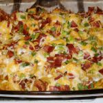 Loaded Potato and Chicken Casserole Recipe – With a Spicy Twist
