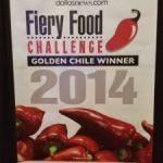 ZestFest Fiery Food Challenge/Golden Chiles 2014 Winners List
