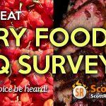 Fiery Foods & BBQ Survey