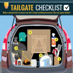 Tailgating Checklist Infographic: How to Host the Perfect Tailgate